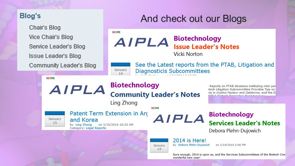 And check out our Blogs