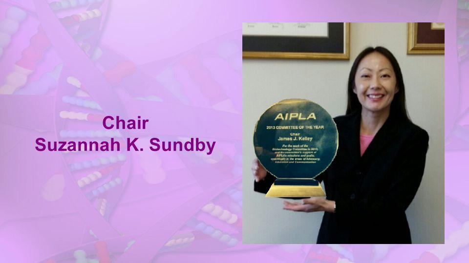 Chair Suzannah K. Sundby