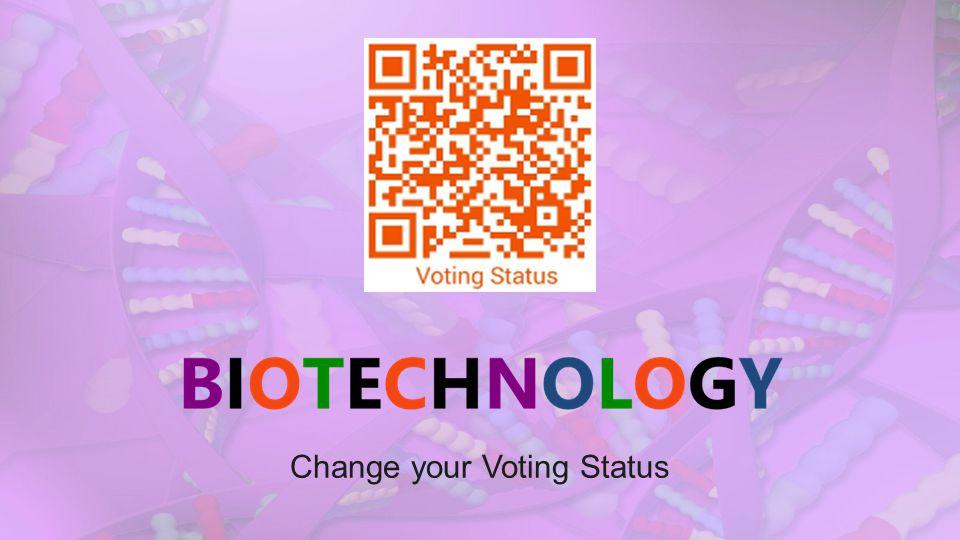 Change your Voting Status