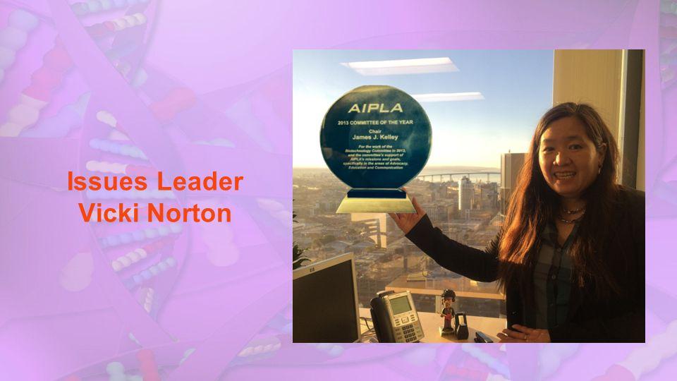 Issues Leader Vicki Norton