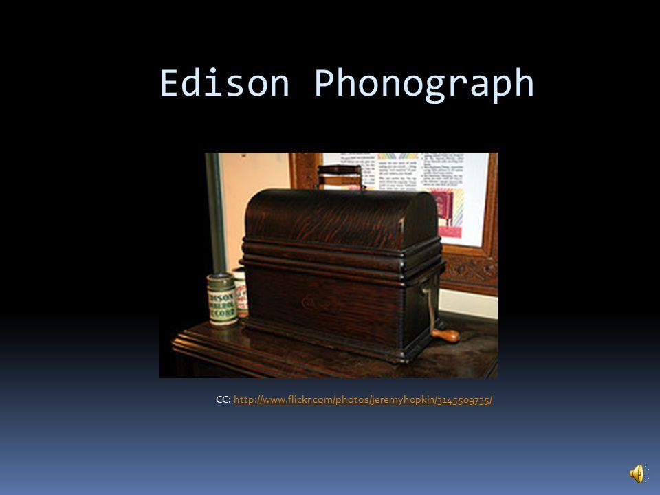 Home Phonograph