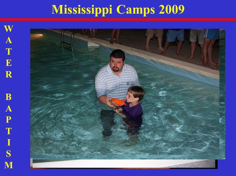 WATER BAPTISMWATER BAPTISM