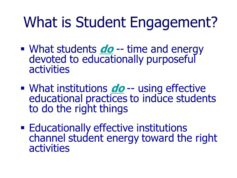 1.Oneonta should initiate a campus-wide discussion of student engagement and strategies for enhancing this process, to include faculty, staff, and students.
