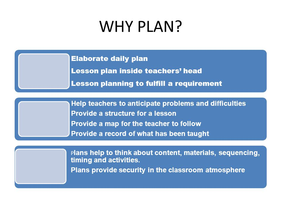 MODELS OF LESSON PLANNING  Tyler (1994) 1.Specify objectives 2.Select learning activities 3.Organize learning activities 4.Specify methods of evaluation  Taylor (1970) Focus on the learner's needs and interests