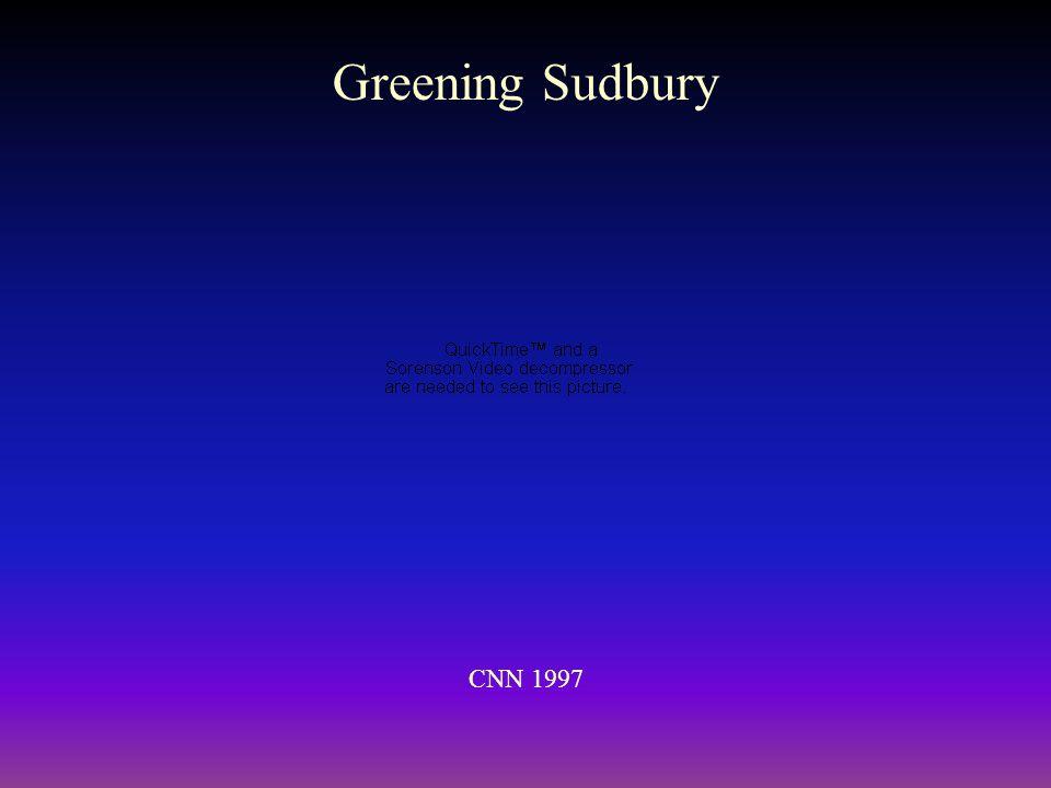 Greening Sudbury CNN 1997