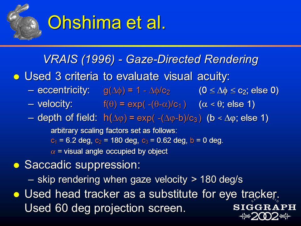 Ohshima et al.