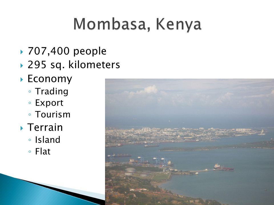  707,400 people  295 sq.