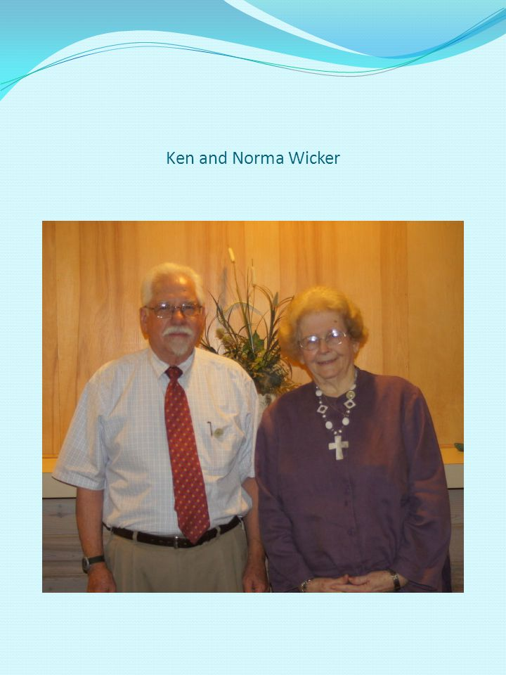 Ken and Norma Wicker