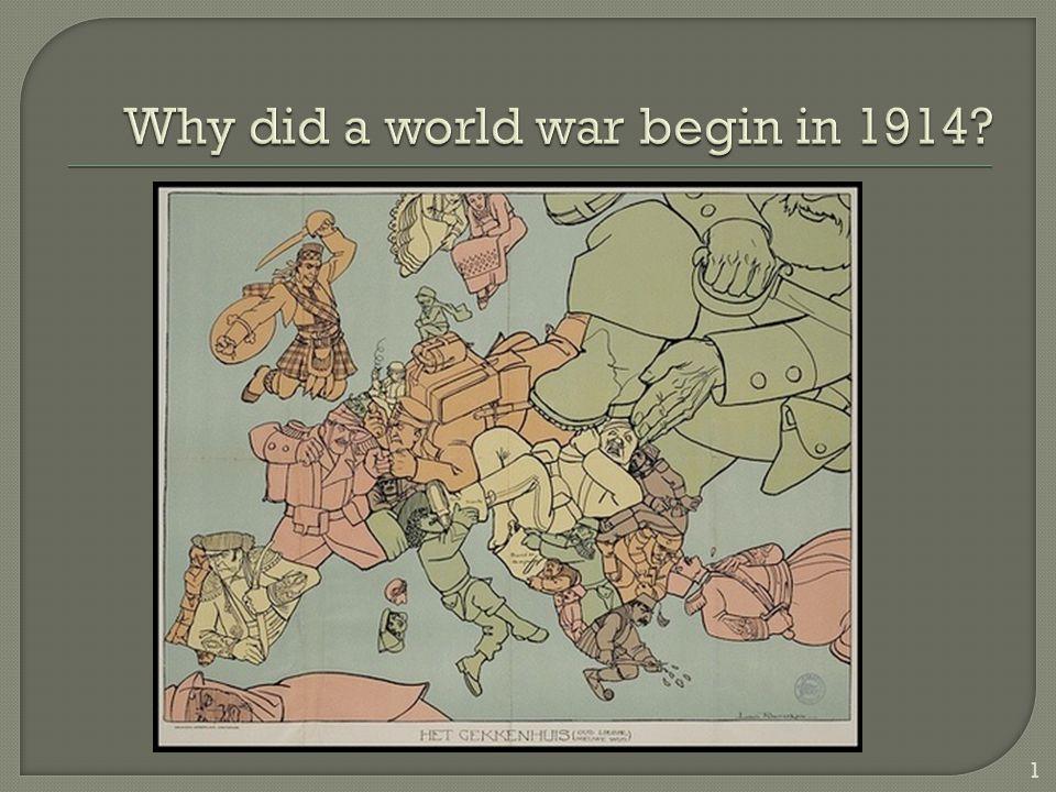 Why was World War 1 unnecessary?
