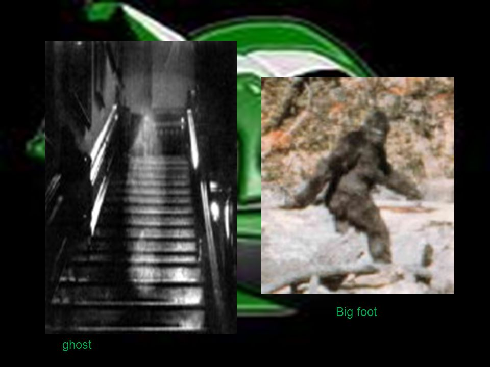 ghost Big foot