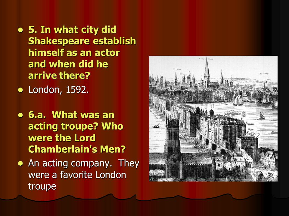 b.What name did they take on in 1603. b. What name did they take on in 1603.