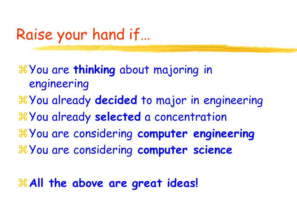Engineering Impacts All Aspects of Society… Take Your Pick.