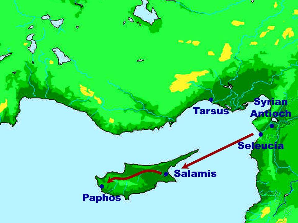 Syrian Antioch Tarsus Salamis Seleucia Paphos