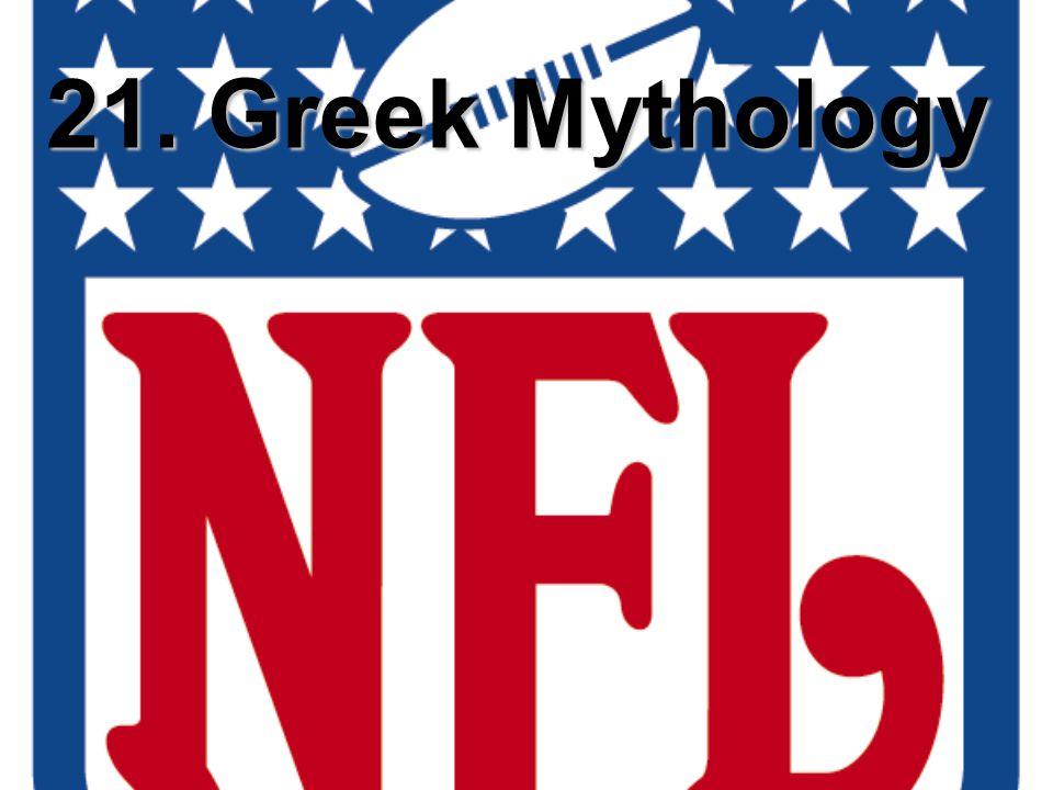 21. Greek Mythology