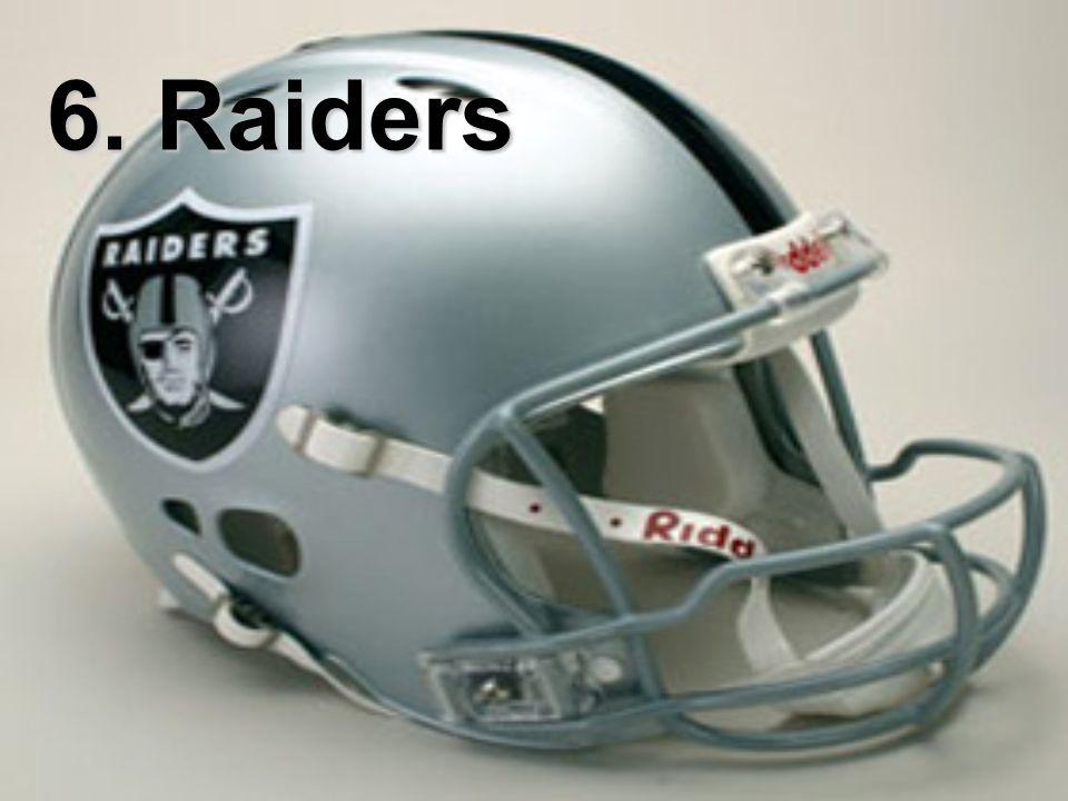 6. Raiders