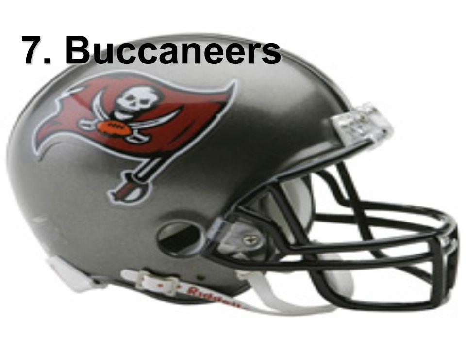 7. Buccaneers