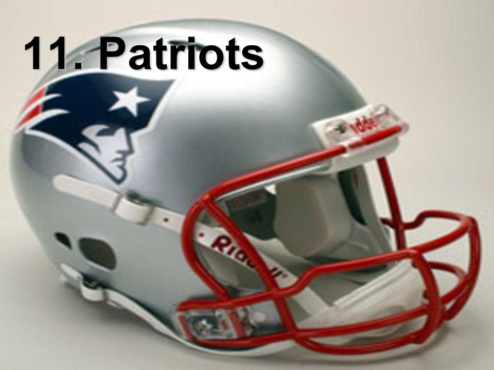 11. Patriots