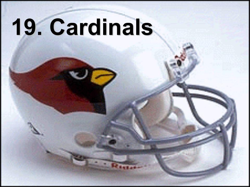 19. Cardinals