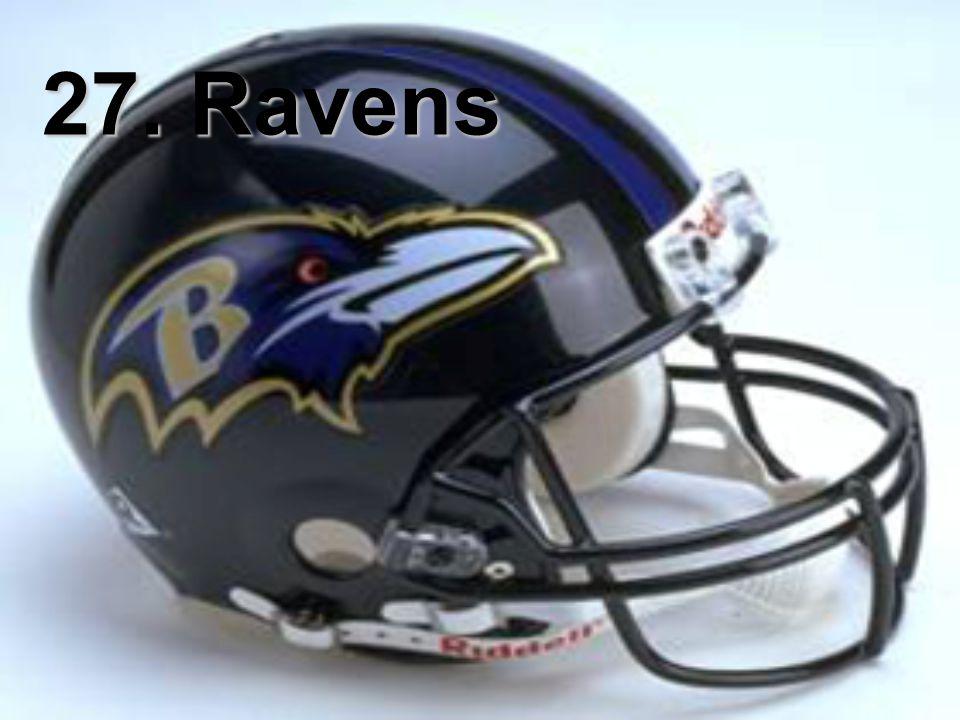 27. Ravens
