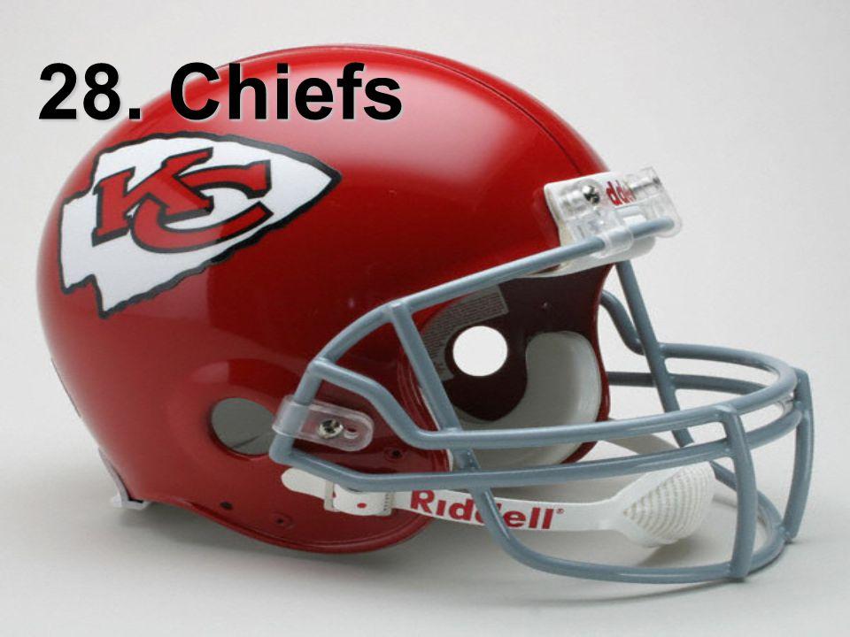 28. Chiefs