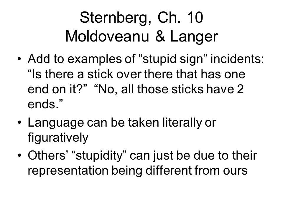 Sternberg, Ch.