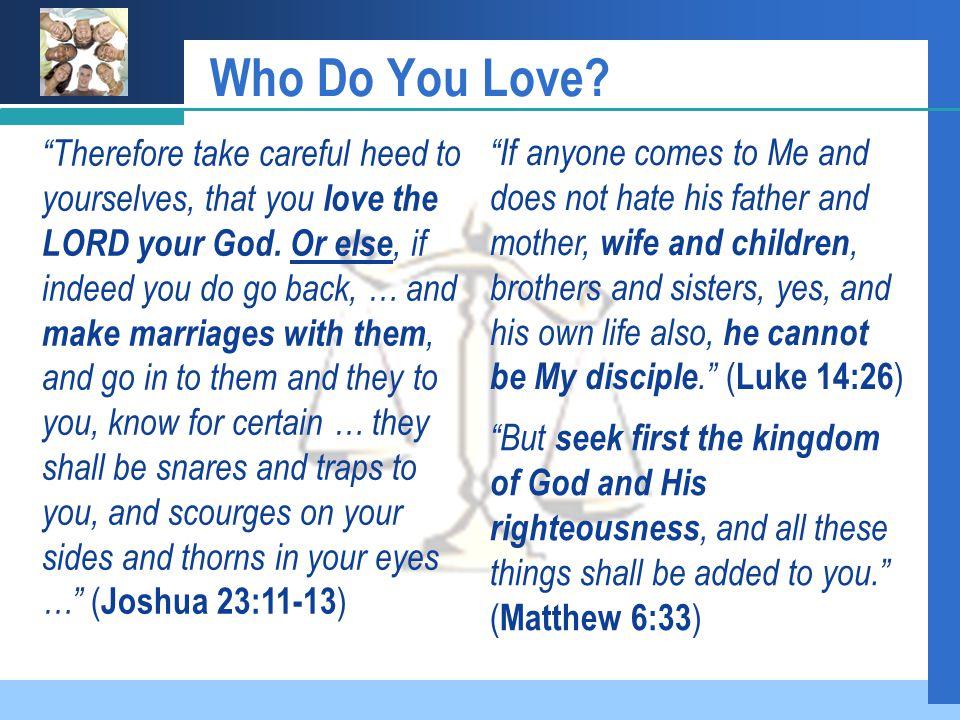 Who Do You Love.