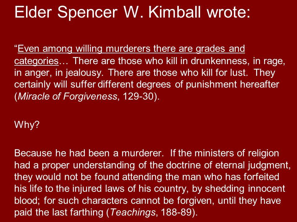 Elder Spencer W.