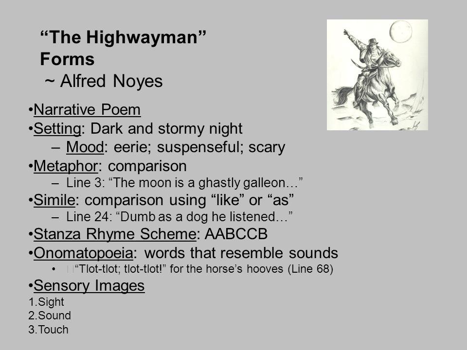 Forms: Lyric Poem: More description than story.