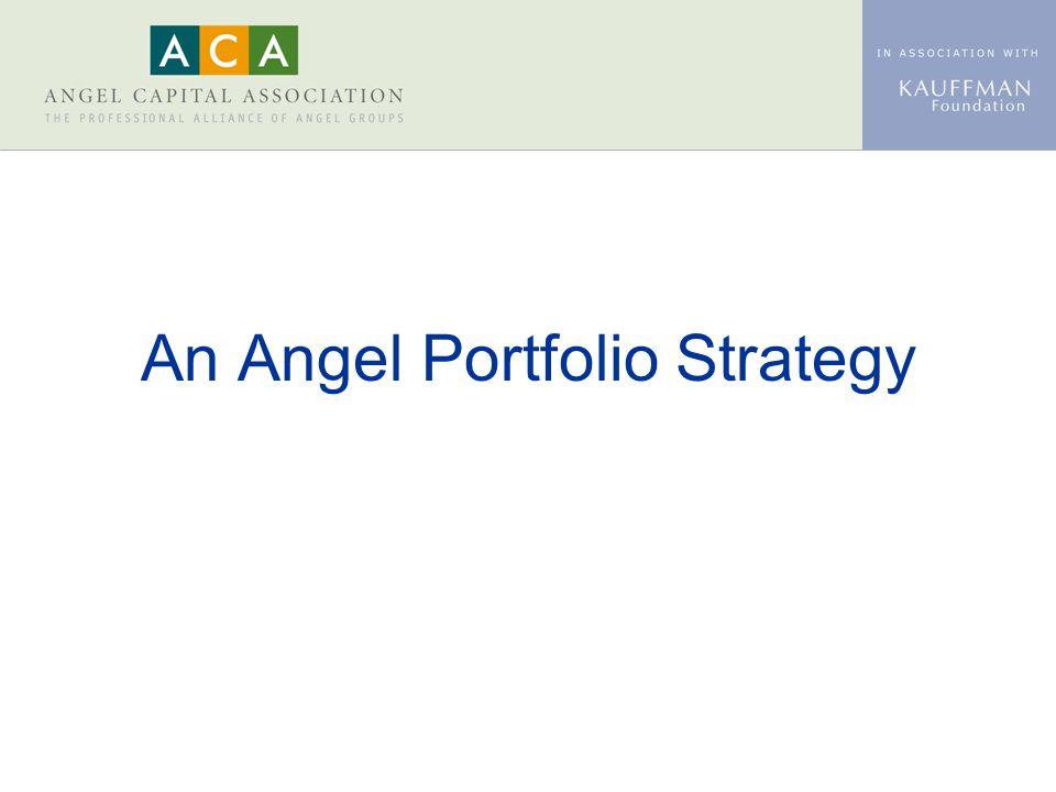 An Angel Portfolio Strategy