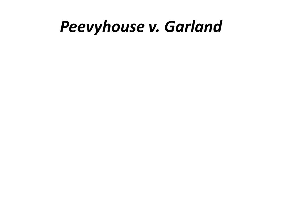 Peevyhouse v. Garland