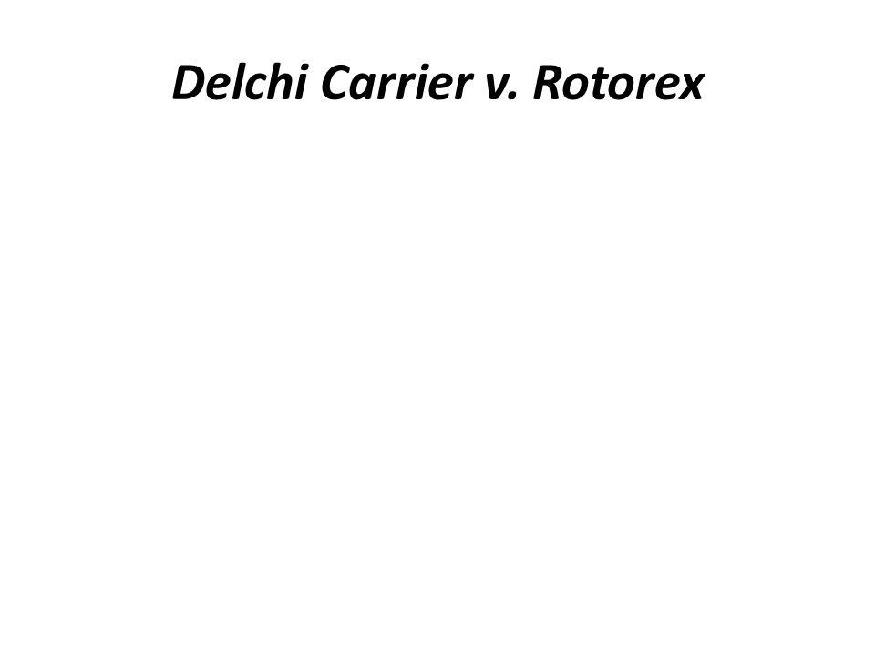 Delchi Carrier v. Rotorex