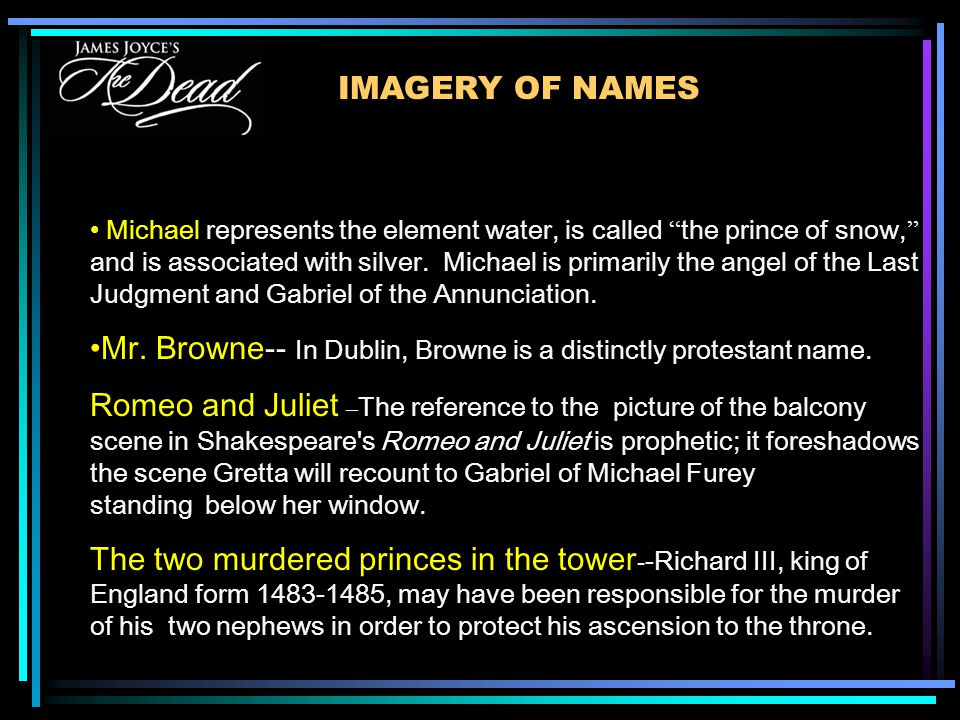 Michael represents the element water, is called the prince of snow, and is associated with silver.