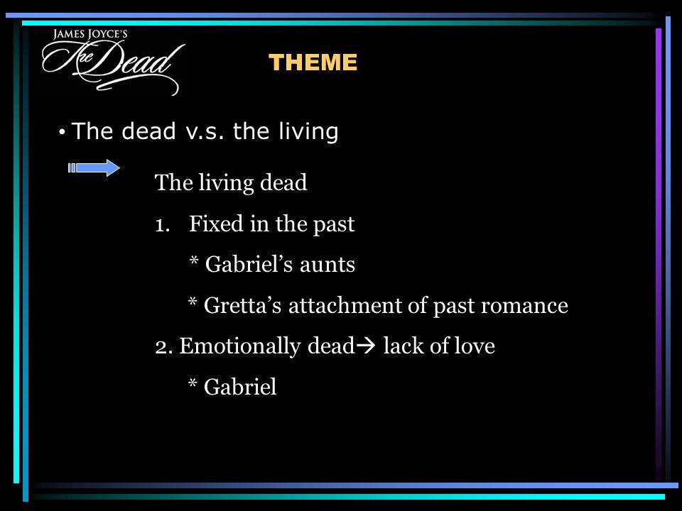 THEME The dead v.s.