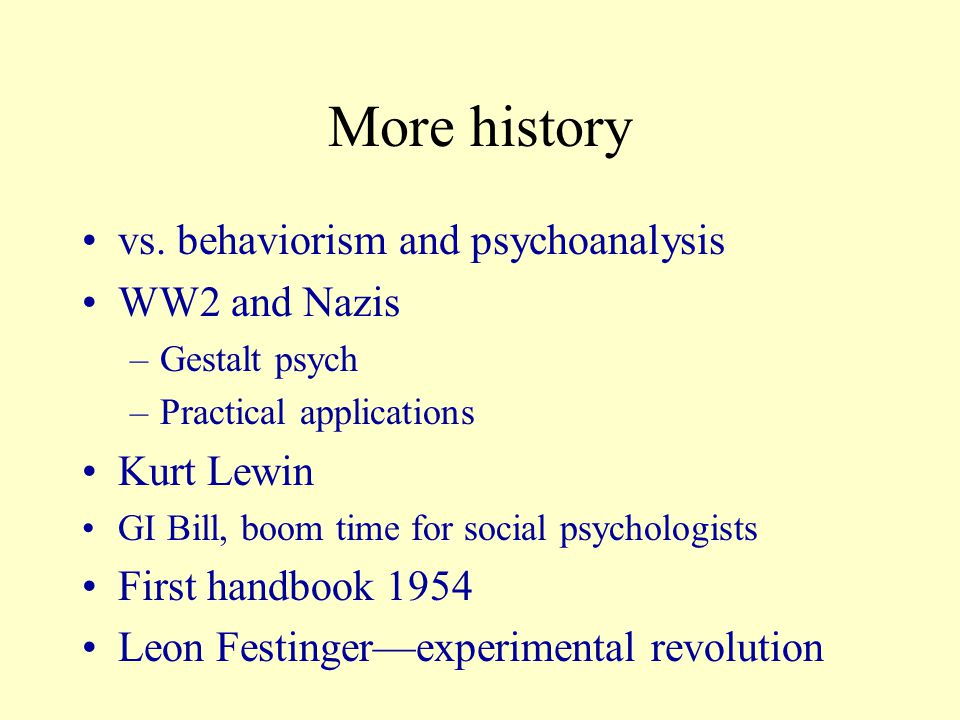 1947 SPSP starts, 1965—JPSP and JESP 70's cognitive revolution –Paper and pencil are king.