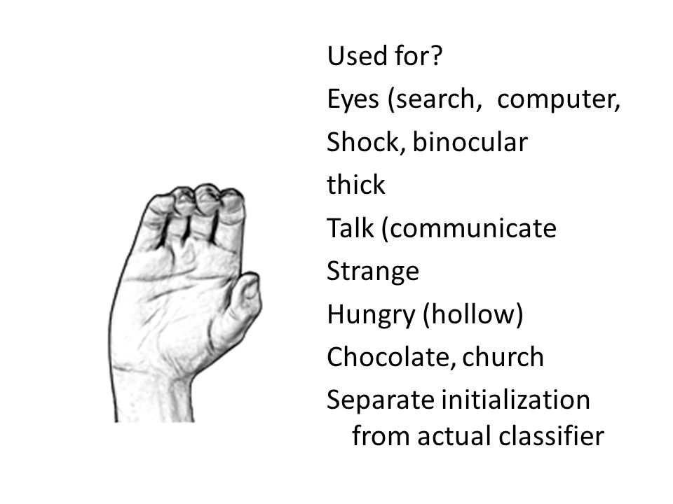 Used for? Eyes (search, computer, Shock, binocular thick Talk (communicate Strange Hungry (hollow) Chocolate, church Separate initialization from actu