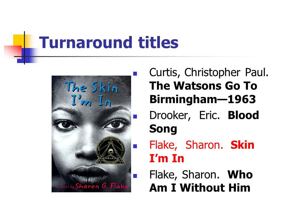 Turnaround titles Werlin, Nancy.Killer's Cousin Williams, Stanley Tookie .