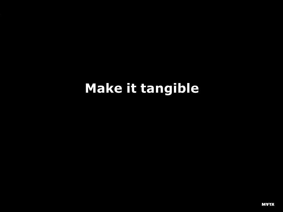 MAYA Design, Inc. Make it tangible