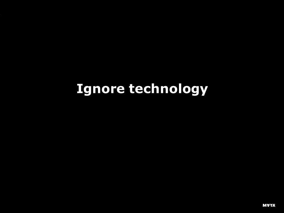 MAYA Design, Inc. Ignore technology
