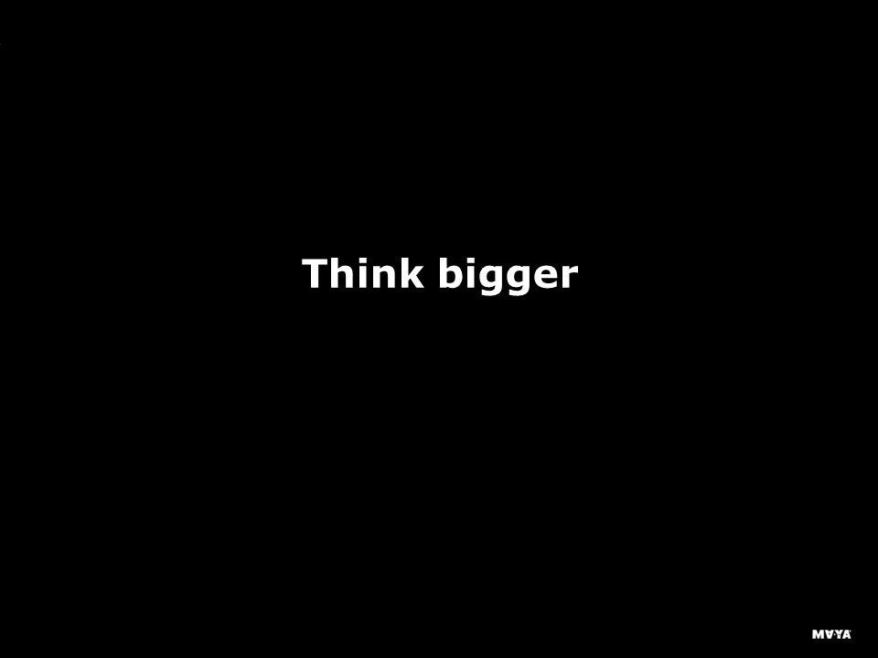 MAYA Design, Inc. Think bigger