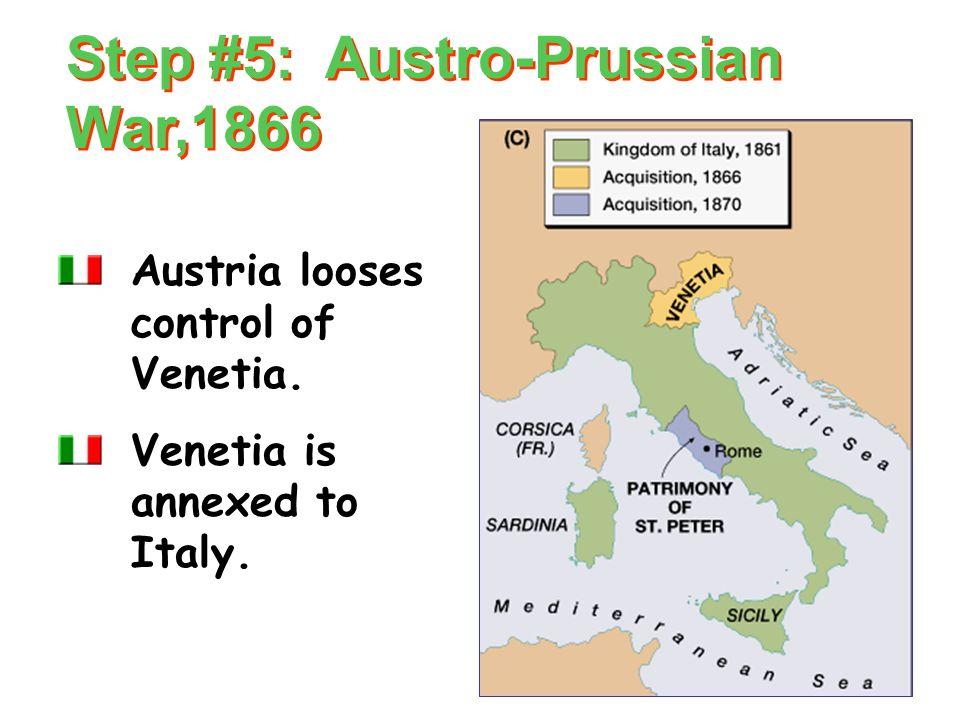 Step #4: Austro-Sardinian War, 1859