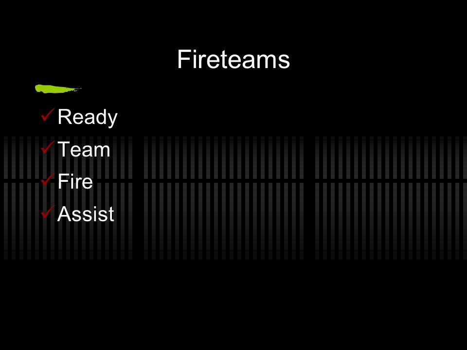 Fireteams Ready Team Fire Assist