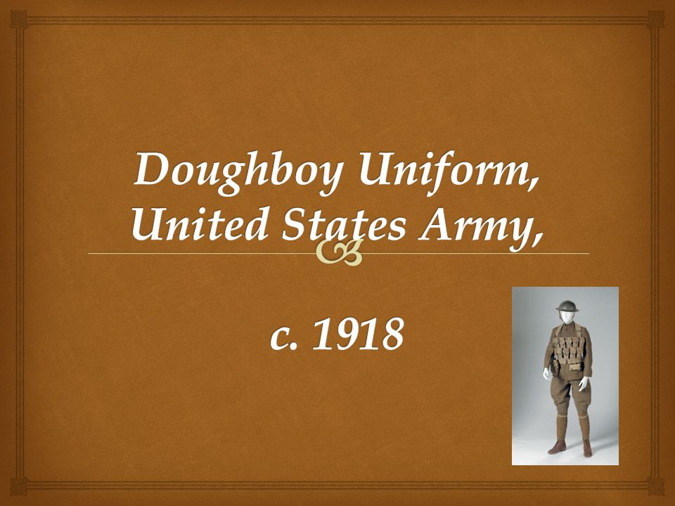   Throughout history, military uniforms have set apart the people who wear them.