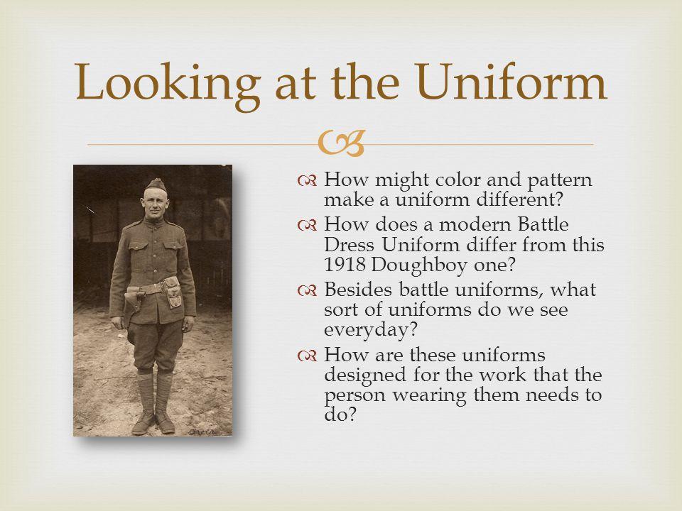  Uniform Examples Today