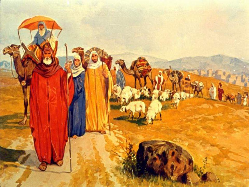 Abram worships God
