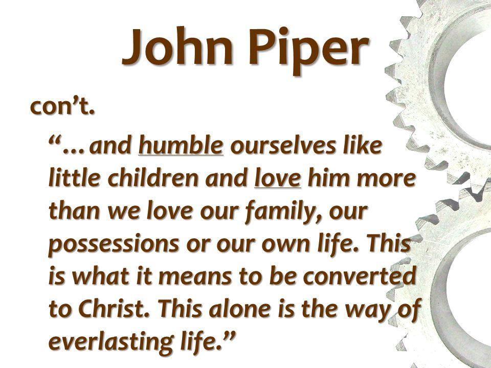 John Piper From When I Don't Desire God ...