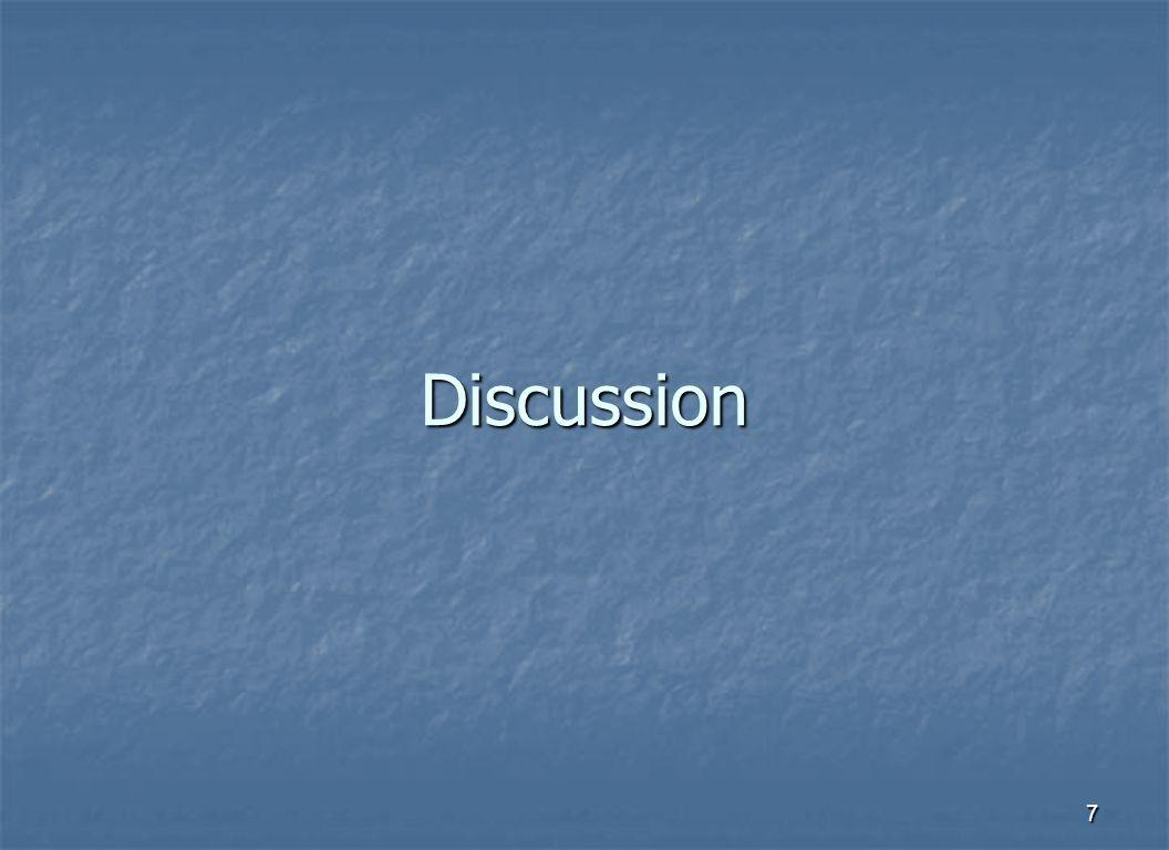 7 Discussion
