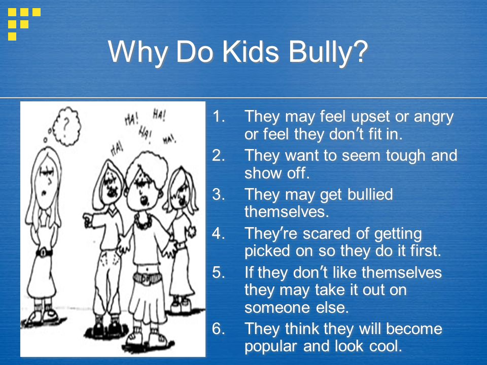 HOW DO KIDS FEEL WHEN THEY ARE BULLIED.