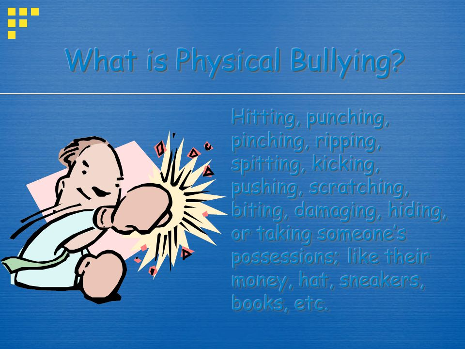 POWER IMBALANCE Remember there is always some type of power imbalance involved in bullying.