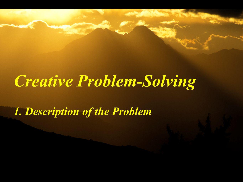 1. Description of the Problem