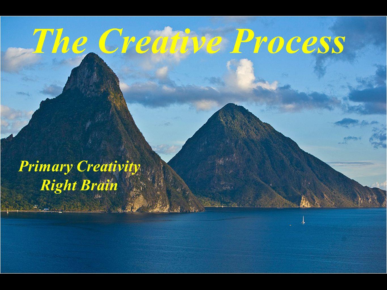 The Creative Process Primary Creativity Right Brain